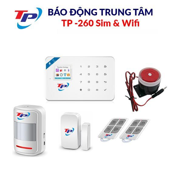 BÁO ĐỘNG TRUNG TÂM TP-260Sim&Wifi