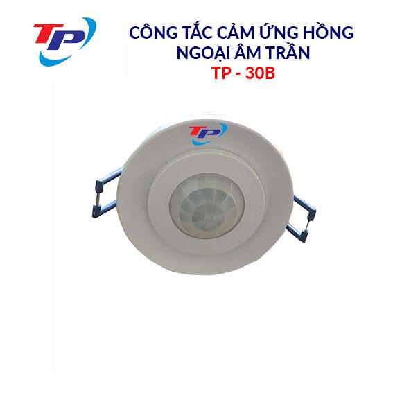 Công tắc cảm ứng hồng ngoại âm trần TP-30B