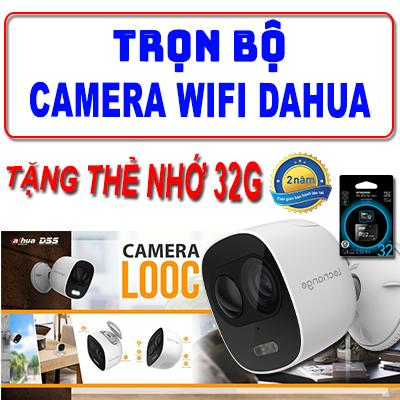 Trọn Bộ Camera WIFI DAHUA IPC-C26EP