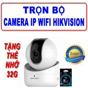 Trọn Bộ Camera IP WIFI HIKVISION DS-2CV2Q01EFD-IW